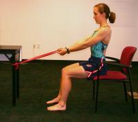 Esercizio 5A prevenzione tendinite della cuffia dei rotatori