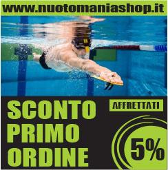 Sconto primo ordine Nuoto Mania Shop