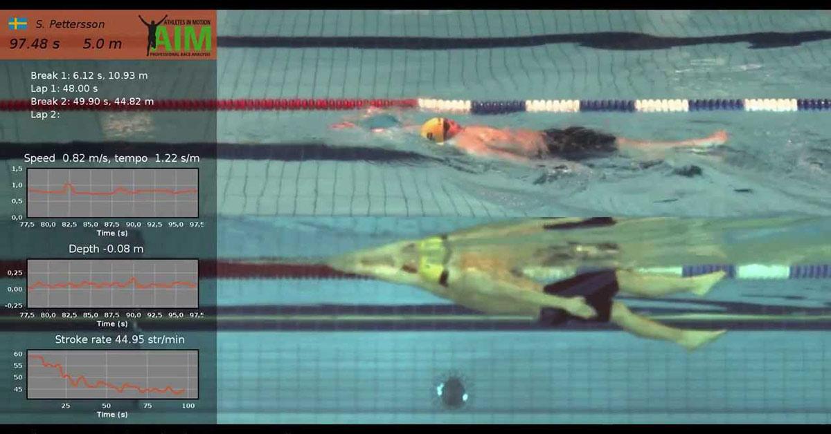 Un esempio di video analisi nel nuoto