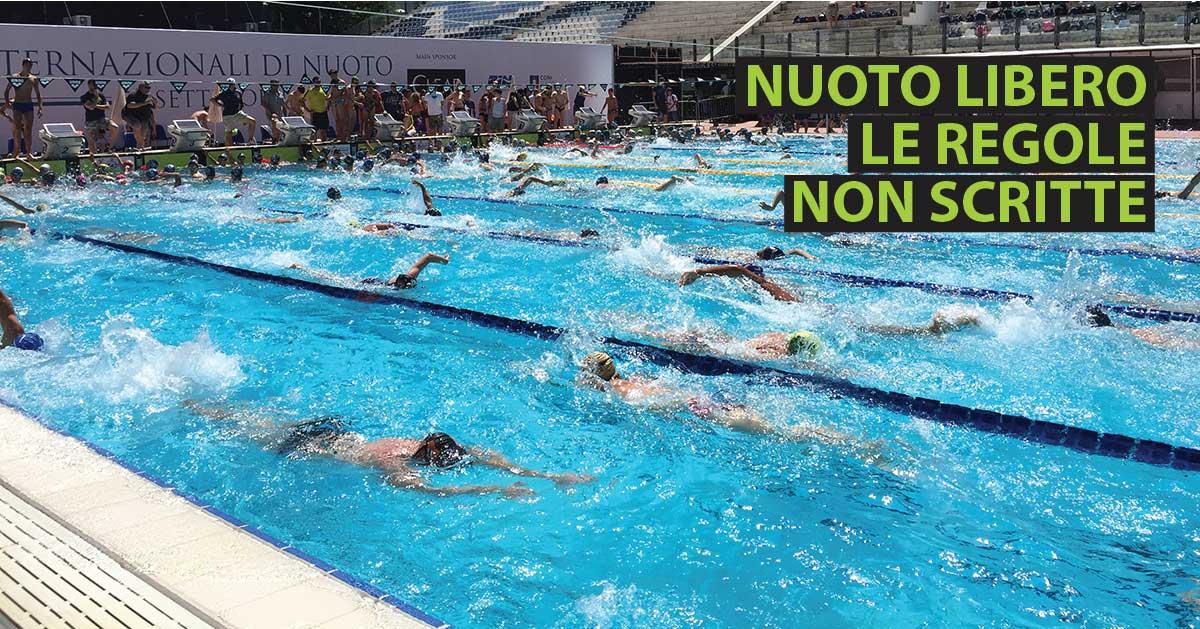 Nuoto libero le regole