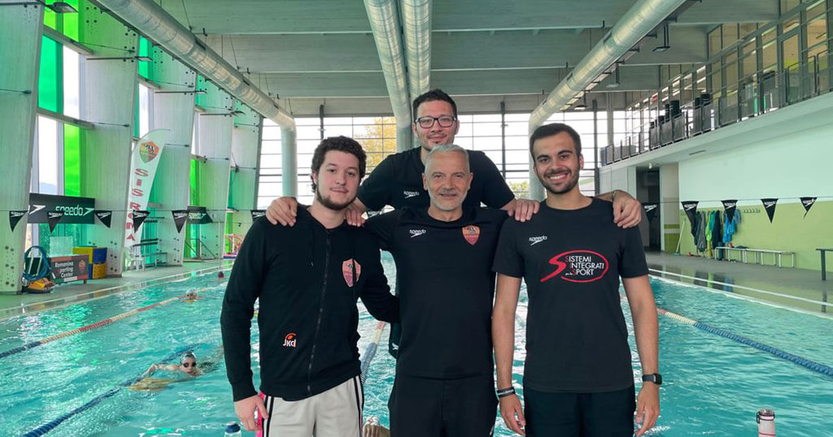 Marco Silvestri, Leonardo Casagrande, Manuel Risi e Gian Maria D'Amici