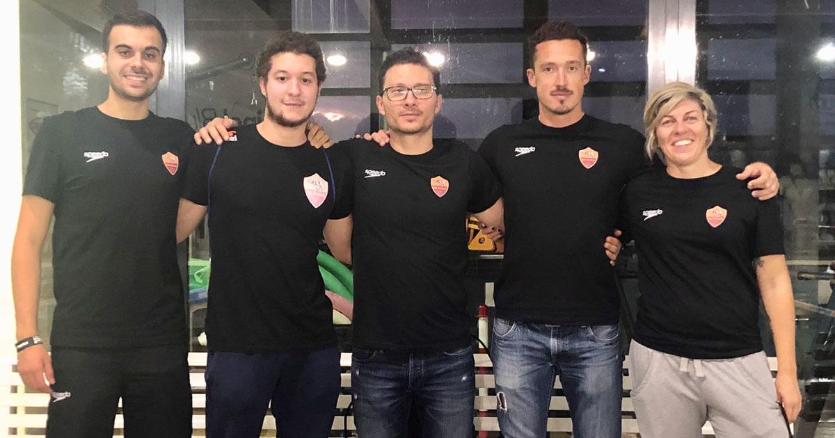 Gian Maria D'Amici e il suo gruppo di lavoro