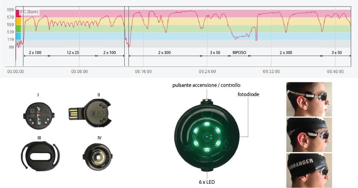 Validazione Polar Verity Sense cardiofrequenzimetro nuoto